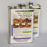Clear Penetrating Epoxy Sealer (CPES) 2-Gallon Kit Cold Weather Formula