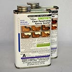 Clear Penetrating Epoxy Sealer (CPES) 2-Pint Kit Cold Weather Formula