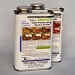 Clear Penetrating Epoxy Sealer (CPES) 2-Quart Kit Cold Weather Formula