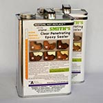 Clear Penetrating Epoxy Sealer (CPES) 2-Gallon Kit Warm Weather Formula